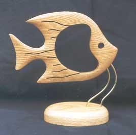 Рыбы из дерева своими руками